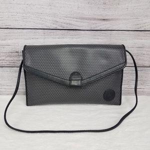 Liz Clairborne Shoulder Bag Purse Leather trim
